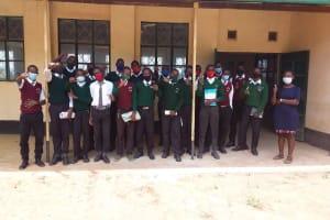 The Water Project: Kikumini Boys Secondary School -  Child Health Club Members