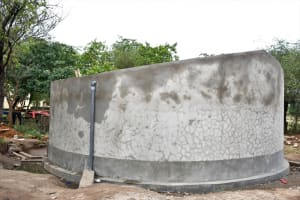 The Water Project: Kikumini Boys Secondary School -  Completed Tank