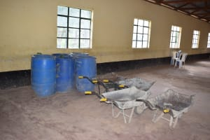 The Water Project: Kikumini Boys Secondary School -  Construction Materials