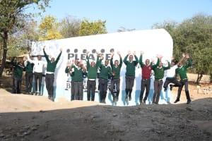 The Water Project: Kikumini Boys Secondary School -  Jumping For Joy