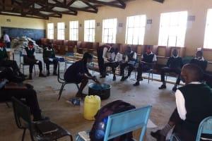The Water Project: Kikumini Boys Secondary School -  Mixing Soap