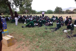 The Water Project: Kikumini Boys Secondary School -  Students And The Training