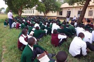 The Water Project: Kikumini Boys Secondary School -  Students At The Training