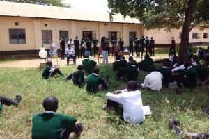 The Water Project: Kikumini Boys Secondary School -  Students Listen To The Training