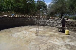 The Water Project: Kikumini Boys Secondary School -  Tank Foundation