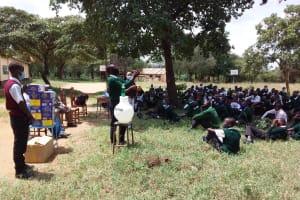 The Water Project: Kikumini Boys Secondary School -  Training Demonstration