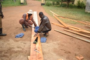 The Water Project: Kikumini Boys Secondary School -  Wood For Scaffolding