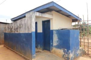 The Water Project: Kingsway Secondary School -  Sierraleone School Latrine