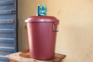 The Water Project: Kingsway Secondary School -  Sierraleone Water Storage At Classroom