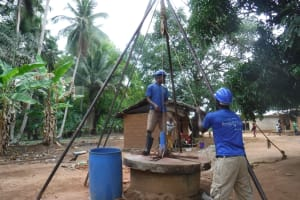 The Water Project: Kamasondo, Masome Village -  Bailing