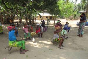 The Water Project: Kamasondo, Masome Village -  Covid Sensitization