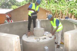 The Water Project: Kamasondo, Masome Village -  Chlorination
