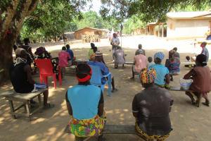 The Water Project: Kamasondo, Masome Village -  Community Members At The Training