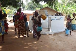 The Water Project: Kamasondo, Masome Village -  Dancing At The Well Dedication