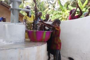 The Water Project: Kamasondo, Masome Village -  Kids Celebrate The Well