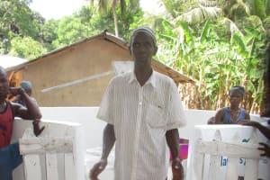 The Water Project: Kamasondo, Masome Village -  Mr Umaru Conteh