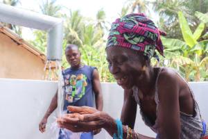 The Water Project: Kamasondo, Masome Village -  Woman At The Well