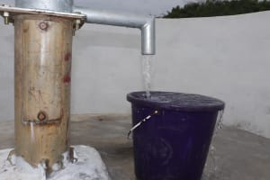 The Water Project: St. Peter Roman Catholic Primary School -  Clean Water Flowing