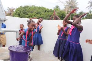 The Water Project: St. Peter Roman Catholic Primary School -  Dedication Celebration