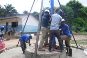 The Water Project: St. Peter Roman Catholic Primary School -  Drilling