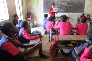 The Water Project: St. Peter Roman Catholic Primary School -  Hygiene And Sanitation Training