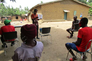 The Water Project: St. Peter Roman Catholic Primary School -  Outdoor Training Session