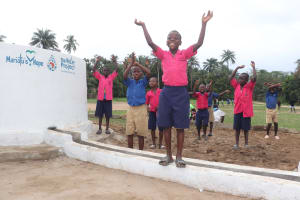 The Water Project: St. Peter Roman Catholic Primary School -  Singing At The Dedication