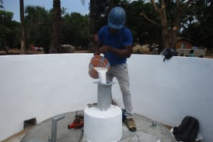 The Water Project: DEC Kitonki Primary School -  Chlorination