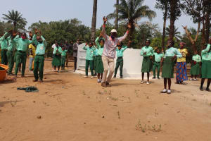 The Water Project: DEC Kitonki Primary School -  Dedication Singing And Dancing