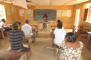 The Water Project: DEC Kitonki Primary School -  Diarrhea Discussion