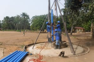 The Water Project: DEC Kitonki Primary School -  Drilling