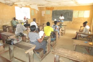 The Water Project: DEC Kitonki Primary School -  Handwashing Discussion