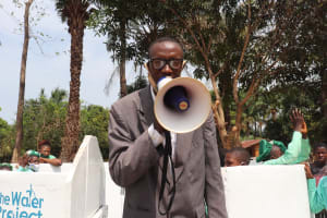 The Water Project: DEC Kitonki Primary School -  Head Teacher Making Statement