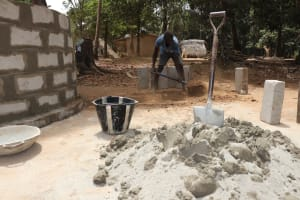 The Water Project: DEC Kitonki Primary School -  Pad Construction