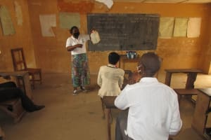 The Water Project: DEC Kitonki Primary School -  Tippy Tap Lesson