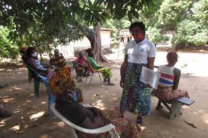 The Water Project: Lungi, Yongoroo, 32 Gbainty Bunlor -  Hygiene Facilitator Leads The Training