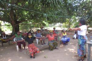 The Water Project: Lungi, Yongoroo, 32 Gbainty Bunlor -  Training On Covid