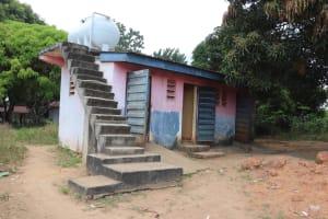 The Water Project: Lungi, Tardi, St. Monica's RC Primary School -  School Latrine