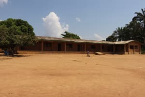 The Water Project: Lungi, Tardi, St. Monica's RC Primary School -  School Building