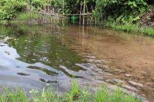 The Water Project: Kamasondo, Feradugu Village -  Alternate Water Source