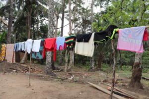 The Water Project: Kamasondo, Feradugu Village -  Clothesline