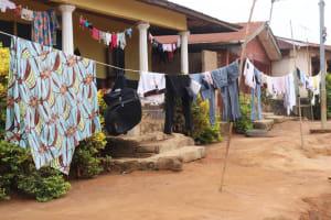 The Water Project: Lungi, Masoila, Lower Kamara St Mosque -  Clothesline
