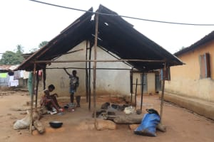The Water Project: Lungi, Masoila, Lower Kamara St Mosque -  Kitchen