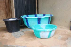 The Water Project: Lungi, Masoila, Lower Kamara St Mosque -  Water Storage
