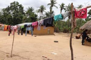 The Water Project: Kamasondo, Makontho Village -  Clothesline
