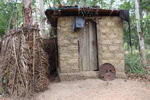 The Water Project: Kamasondo, Makontho Village -  Latrine