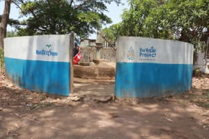 The Water Project: Lungi, Tintafor, Mother Teresa's Pre-Primary School -  Main Well