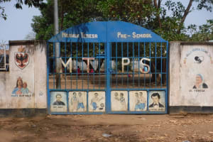 The Water Project: Lungi, Tintafor, Mother Teresa's Pre-Primary School -  School Entrance