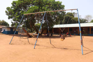 The Water Project: Lungi, Tintafor, Mother Teresa's Pre-Primary School -  School Play Ground