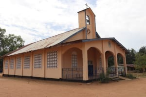 The Water Project: Saint Paul's Roman Catholic Primary School -  Church On School Compound